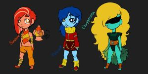 Gem Adopts (1st Batch : 1/3) NEW LOWER PRICES by LilArtsyPrime