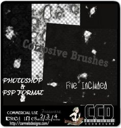 Corrosive  Brushes CCDesigns by Carmels-Designs