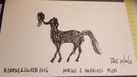 20 Horses and Headless Men by Thastygliax