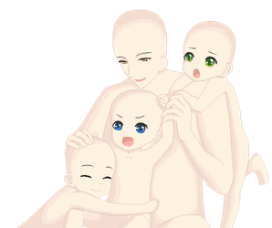 Happy Family - Base by pigtrooper
