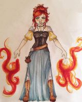 Character Design: Vivica by Pip400