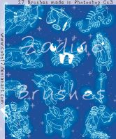 Zodiac Brushes by Coby17