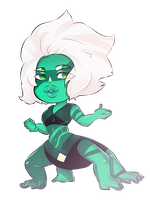 Malachite ( CHIBI ) by MeloPearl
