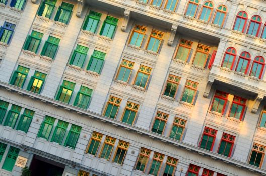 Coloured Windows by Bumbelsbee