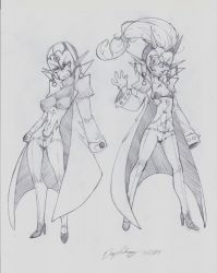 OC - Fortuo (left) Freya (right) III by snoop19922002