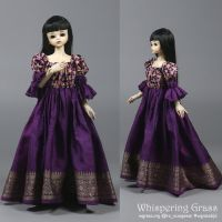 Violet 1/4 BJD Outfit for MSD by scargeear