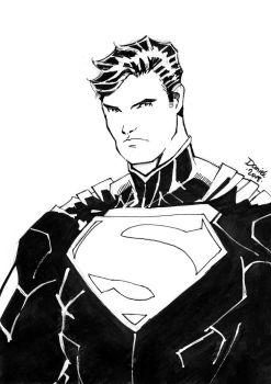 Superman (New 52) by DocFlint