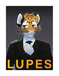 [C] Lupes badge by calypso-art