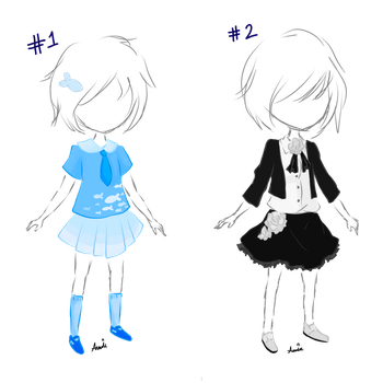 Cheap Outfit Adopts! (1/2 OPEN) by Explosion245