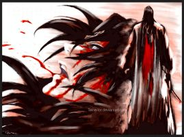 Kuchiki Byakuya - Speed Paint by Teine-tor