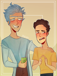 Rick And Morty by yosuehere