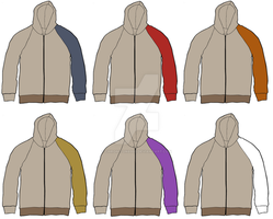 Space 1999 Year 1 uniform hoodies by Chroniton8990
