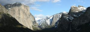 Tunnelview at Yosemite - PM by thzinc