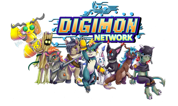 Digimon Network: The Digis by AwesomebyAccident