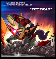 Mazinger Series - Mikene Warrior Beast Teotras by GearGades