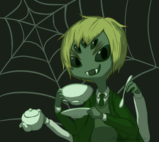 Undertale Spider England by Lonely-Paperclip