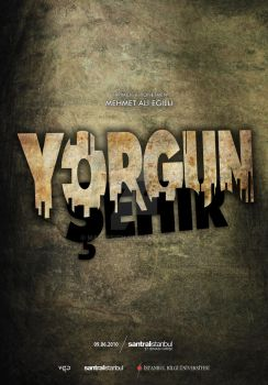 Exhausted City / Yorgun Sehir Poster by MAEDesign