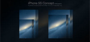 iPhone 5S Concept Wallpaper Pack by Tecior