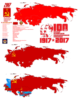 100th Anniversary of the October Revolution by Metallist-99