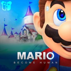 Mario Become Human by PeterisBeter