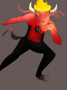 Red Lantern OC by The-Henryverse