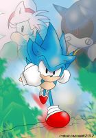 Classic Sonic CD by QuietDuna