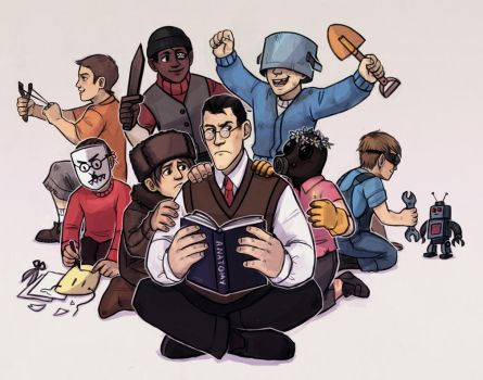 Kids Fortress 2 by Kessavel-art