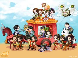 outing2- Dynasty Warrior by DYKC
