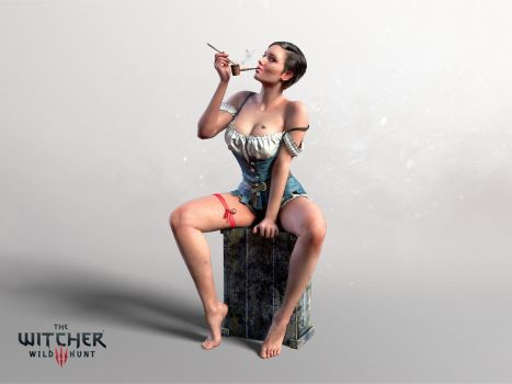 Witcher 3 Hearts of Stone, The  Dancer by Scratcherpen