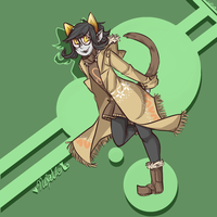 Hipster!Nepeta by Coffee-and-Paperbags
