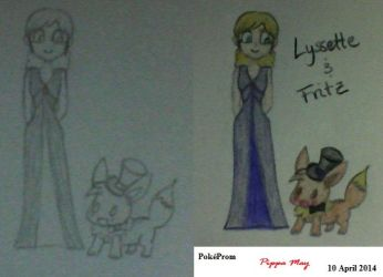 Lyssette and Fritz by BlackWings86