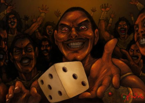 the Cursed Dice Game by Arioanindito