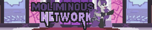 Pixel Pony Youtube banner by TheMoliminous