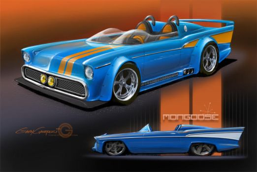 1957 Chevy Sports Roadster by GaryCampesi
