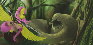 Fluttershy's Forest by boomythemc