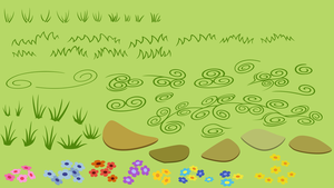 Grass templates by Stabzor