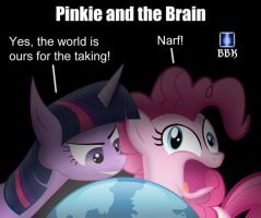 Pinkie and the Twilight by BB-K