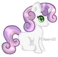 Sweetie Belle by Posey-11