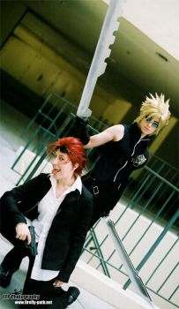 Advent Children by Firefly-Path