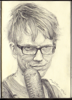 Hank Green by CaptnArrri