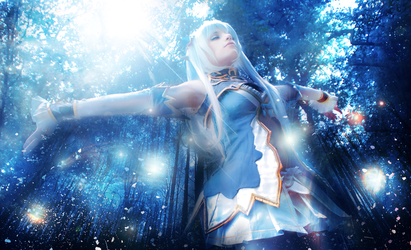 Altina -Shining Blade Cosplay by KICKAcosplay