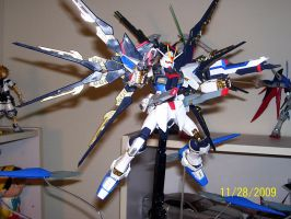 Strike Freedom 'FULL BURST' by The-Vash
