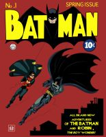 Batman No. 1 Remastered Recolored by phil-cho
