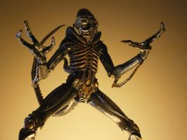 Alien Xenomorph Warrior figure by IgnacioRC