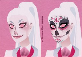 Sugar Skull by brianne333
