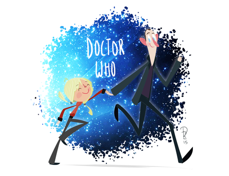 Doctor Who Fanart by PaolaRech