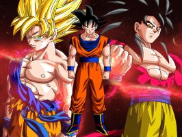 Wallpaper The Legend Of Goku by Dony910