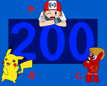 Number 200 by Pilot231