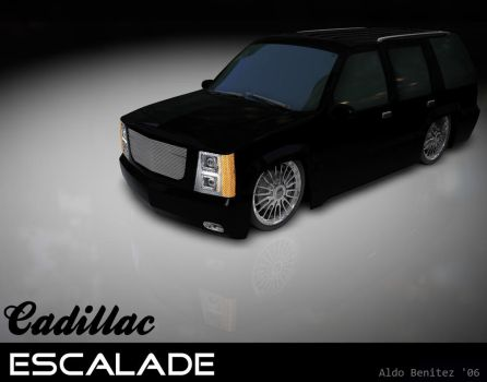 Black Escalade by aldo0815