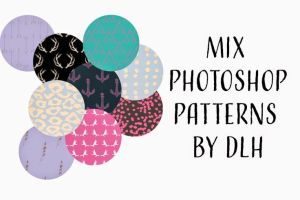 Mix PS Patterns by DLH by toxiclolley88